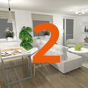 Lägenhet tvåa