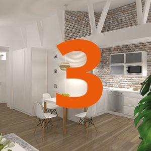 Lägenhet trea